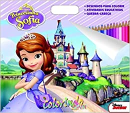 Princesinha Sofia Colecao Disney Super Colorindo Varios Autores