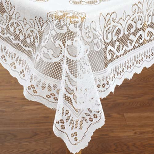 "UPC 989898154869, LACE TABLECLOTH RECTANGLE (60"" X 84"")"