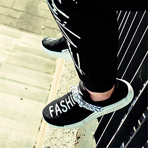 Fashion white Black Men's Shoes amp; Sneakers Running Breathable Flyknit Trail Lightweight Women's Casual zw6zfxqZ7