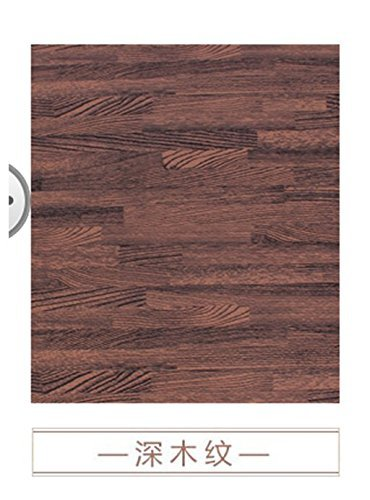 HOMEE Emulation Flooring Foam Rollmat Large Stitching Woodgrain Sponge Pad Home Child Foam Puzzle Mats,60601.2 Cm,Dark by HOMEE