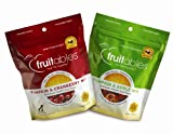 Fruitables Pumpkin & Apple/Pumpkin & Cranberry, Crunchy Baked Dog Treats, Combo Pack, 2 7-Ounce Pouches Review