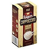 Folgers Mocha Chocolate Flavored Cappuccino Mix Packets.85 Ounce, 4 Packets