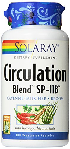 Solaray SP 11B Circulation Blend Supplement, 100 Count (Blend Circulation)