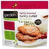 Gardein Meatless, Vegan, Dairy Free, Lightly Breaded Turk'y Cutlet 12.3 oz, Pack of 8