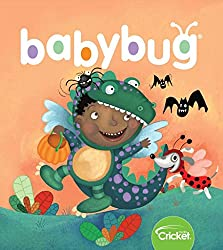 Babybug begins a lifelong love of books for infants and toddlers 6 months to 2 years. For babies who love to be read to and parents and grandparents who love to read to them.