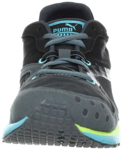 Puma Faas 300 V - Zapatillas de sintético para mujer Black/Blue/Aged Silver - Turbulence Black-Age