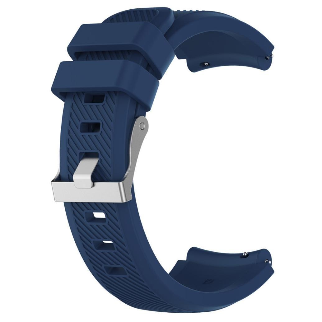 Modaworld _Correa de reloj Suave de Silicona Sports Band para HUAMI Amazfit Stratos Smart Watch 2 Correas de Reloj Inteligente Pulseras de Repuesto (Armada, ...