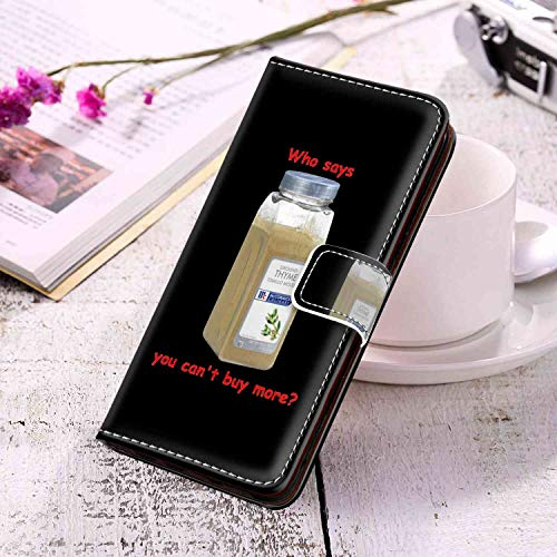 Phone Wallet Case Fits for Samsung Galaxy S10+ 6.4inch Who Says You Can Not Buy More Time Cooks Sign Saying Funny Silly Goofy Wrist Chain Strap]()