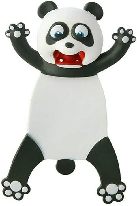 Niedliche Lesezeichen PVC-Lesezeichen im Cartoon-Animals-Stil cat verr/ückte 3D-gequetschte Lesezeichen f/ür Kinder M/ädchen Jungen