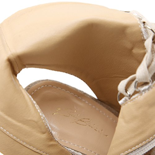 Zapatos Cruzada Sandalias Satén de Pescado Correa Fino Los Beige Zapatos con de ZHZNVX 39 Moda Chica de Tacón Alto Sandalias Boca qp87nx5v