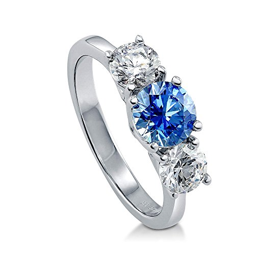 Alluring 3 Stone Ring - 2