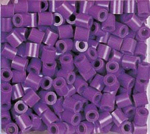 Purple Accessories Shapes Colored Design Jewelry Game // Play Perler Beads 1000 Per Package Pattern Toy // Child // Kid