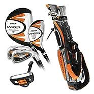 Intech Lancer Junior Golf Set (Age 8-12, Orange) (Renewed)