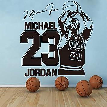 Michael Jordan Tatuajes de pared Deporte Baloncesto decoración ...