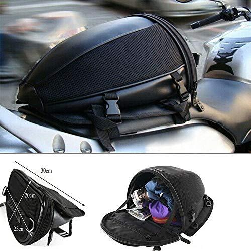 Negro Lin XH Bastidor del Asiento Trasero para Moto