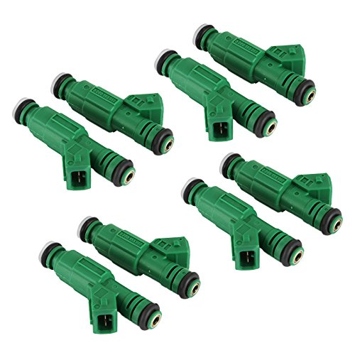 Lt1 Fuel Injectors - Mophorn Set of 8 42lb EV1 Flow Matched 0280155968 High Impedance 440cc Fuel Injectors Fit for Bosch Chevrolet Pontiac Ford TBI LT1 LS1 LS6