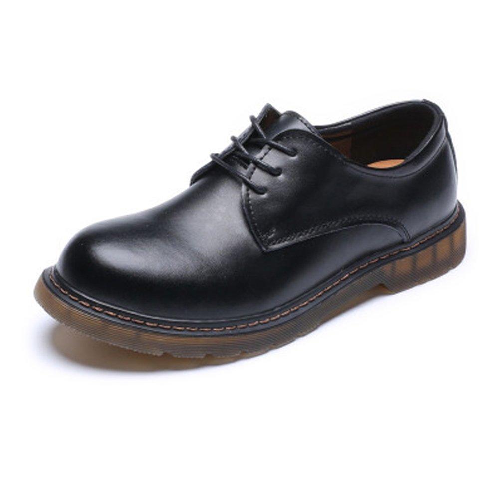 HUANGLINGLING Casual Casual Casual Suede schuhe Männer Loafer Schuhe aus echtem Leder Low Top Ankle Stiefel große Kinder Größe verfügbar Herren Turnschuhe (Farbe   Braun, Größe   6.5 UK)  1586b2