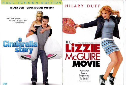 The Lizzie Mcguire Movie , a Cinderella Story : Hilary Duff 2 Pack Collection (The Duff Movie Dvd)