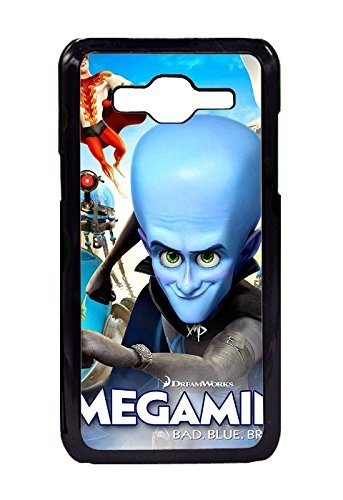 Samsung Galaxy Core Prime Protective Case -Full Protective unique Stylish Case slim flexible durable Megamind Movie Soft TPU Cases Cover for Samsung Galaxy Core Prime Design By [Andrea Novak]