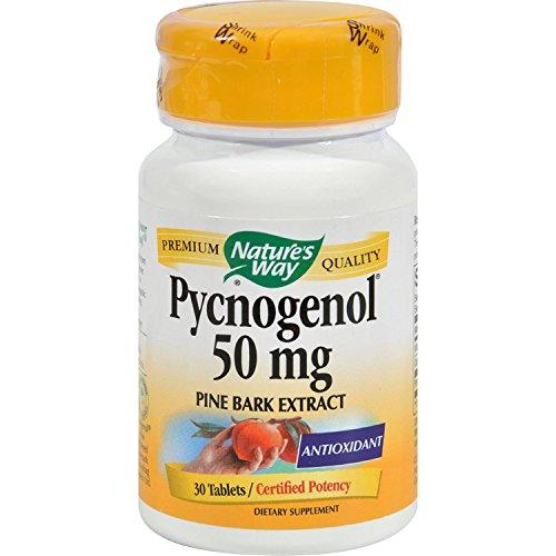 Nature's Way Pycnogenol - 50 mg - 30 (30 Tablets Natures Way)