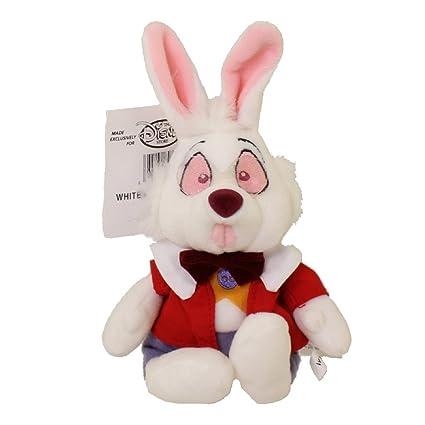Amazon Com Disney Bean Bag Plush Alice In Wonderland White Rabbit 8
