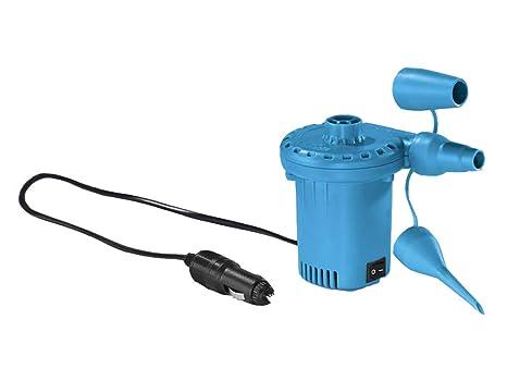INFLADOR ELECTRICO 12V HINCHAR INFLAR COLCHON AIRE HINCHABLES CASA COMPRESOR INFLABLES PELOTAS COLCHONETAS BARCAS