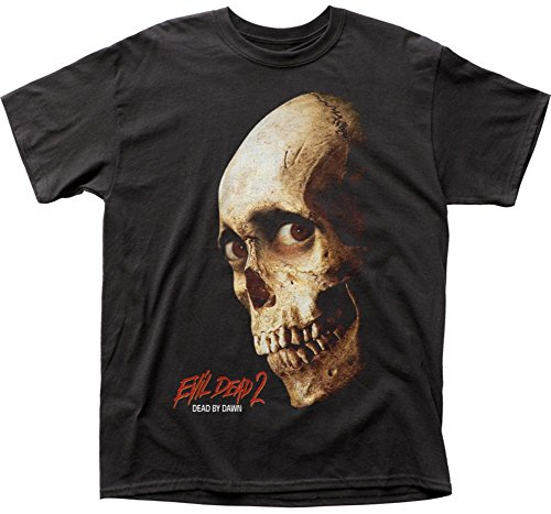 Evil Dead II Dead by Dawn Color Poster Adult tee ()