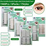 Best Eyelid Tapes - 6 Packs Natural Invisible Single/Double Side Eyelid Tapes Review