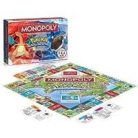 Winning Moves 44116 - Monopoly: Pokémon - Kanto Edition (deutsch)