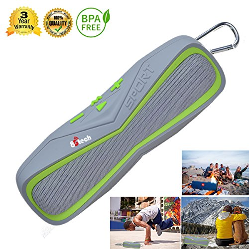 Outdoor bluetooth speaker and waterproof bluetooth speaker with HD Audio and Enhanced Bass,Built-In Speakerphone,Handsfree Calling,Porable bluetooth speaker and Beach Radio for PHONE
