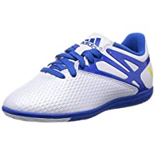 adidas Messi 15.3 IN White Junior Indoor Sports / Soccer Cleats