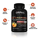 Max Potency Organic Ashwagandha Capsules with Black