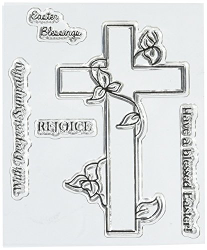 "UPC 682440720108, Two Paper Divas Easter Blessings Clear Stamps, 6"" by 4.5"""