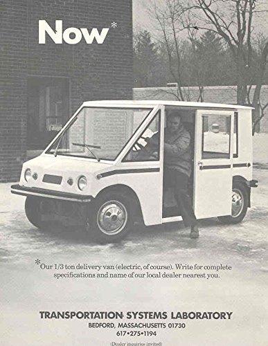 1975 ? Transportation Electric Microcar Truck Brochure from Transportation