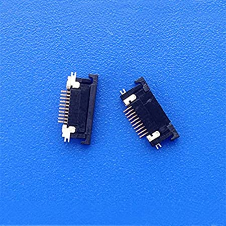 Cable Length: 0.5pitch 10p, Color: 20pcs a Pack Computer Cables 5pcs FPC Cable Connector FPC SFV10R-2STBE1HLF 0.5pitch 10p Drawer on The Access Thickness of 1.8mm