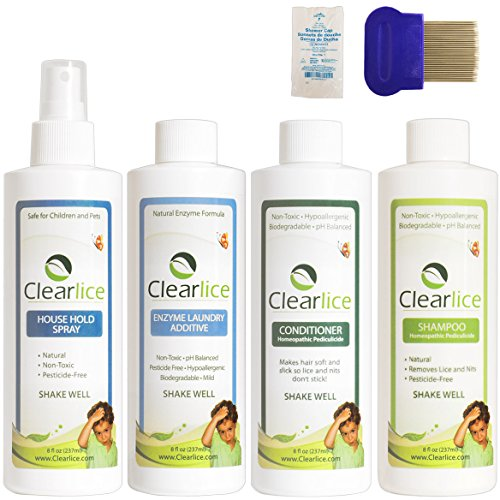 Clearlice Head Lice Treatment Kit (Single Size)