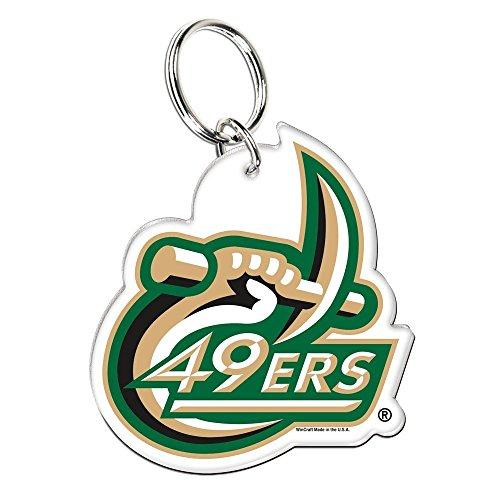 NCAA North Carolina Charlotte Premium Acrylic Key Ring by WinCraft