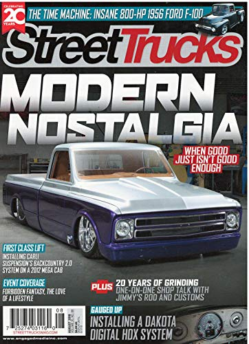 Street Trucks Magazine August 2018 for sale  Delivered anywhere in USA