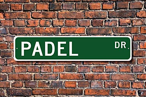 Amazon.com: Fhdang Decor Padel, Padel Sign, Padel Fan, Padel ...