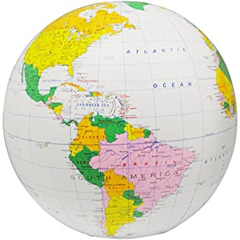 First Accurate Map Of The World.Amazon Com Inflatable Political World Globe With Accurate Map Of