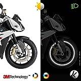 VFLUO CIRCULAR™, Motorcycle retro reflective