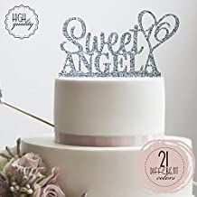 Personalized Sweet Sixteen Cake Topper 16th Birthday Cake Topper Customized Name Quincea–era Cake Topper   Glitter Cake Toppers