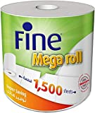 Fine Mega Roll Kitchen Paper Towel Tissue - 1500 Sheets X 1 Ply