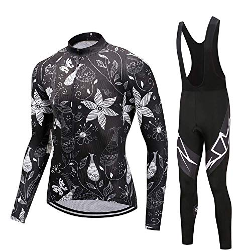 - MTK Men's Cycling Jersey Set Short/Long Sleeve Jersey & Bib Shorts Pro Team Bicycle Clothing Kit for All Levels of MTB Cyclist