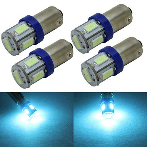 4pc blue led car interior lights - 8