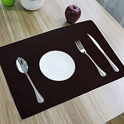 Image Unavailable & Amazon.com: Kuber Industries Dining Table Placemats Set of 6 Pcs ...