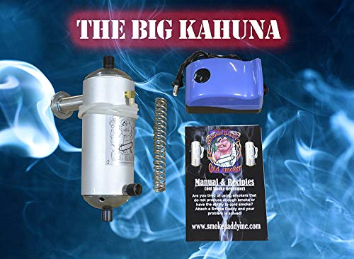 Smoke Daddy Big Kahuna Cold Smoke Generator Uses Your Choice of Fuels