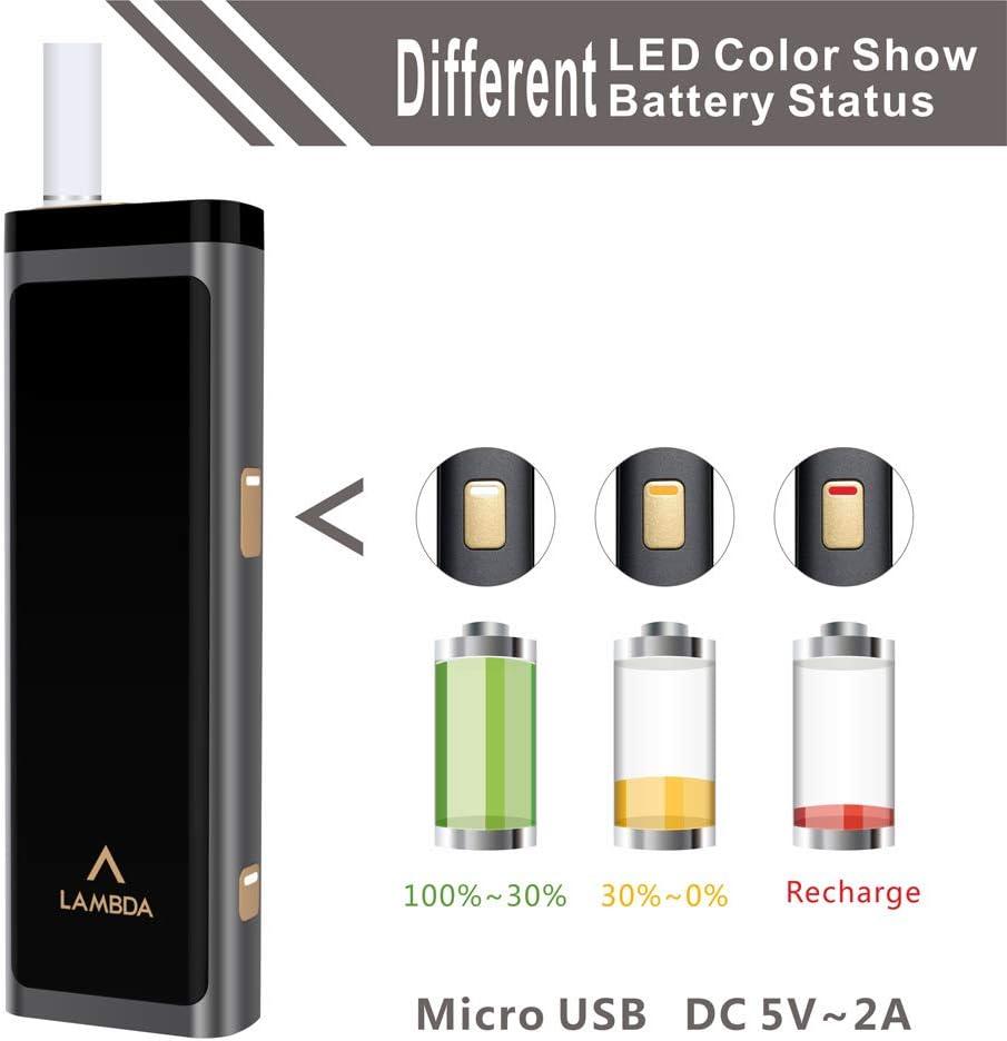 LAMBDA T3 Starter Kit Heat Not Burn Device Black