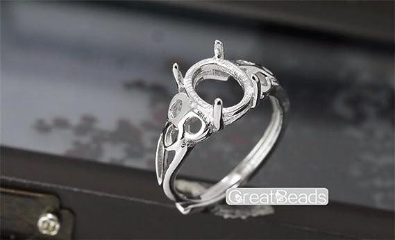 oval 5x7mm 7x10mm 100 junction ring bronze metal