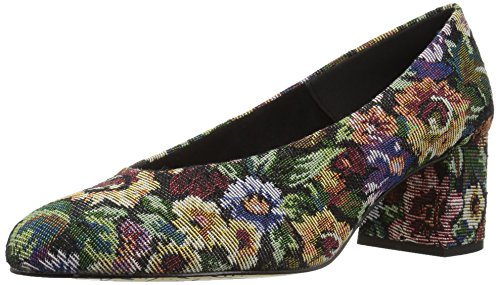 Bella Vita Women's Jensen Dress Pump, Tapestry Fabric, 9 M US ()